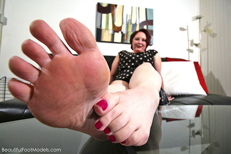 MILF Domme with Beautiful Feet