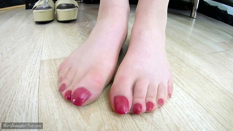 long cosplay toenails