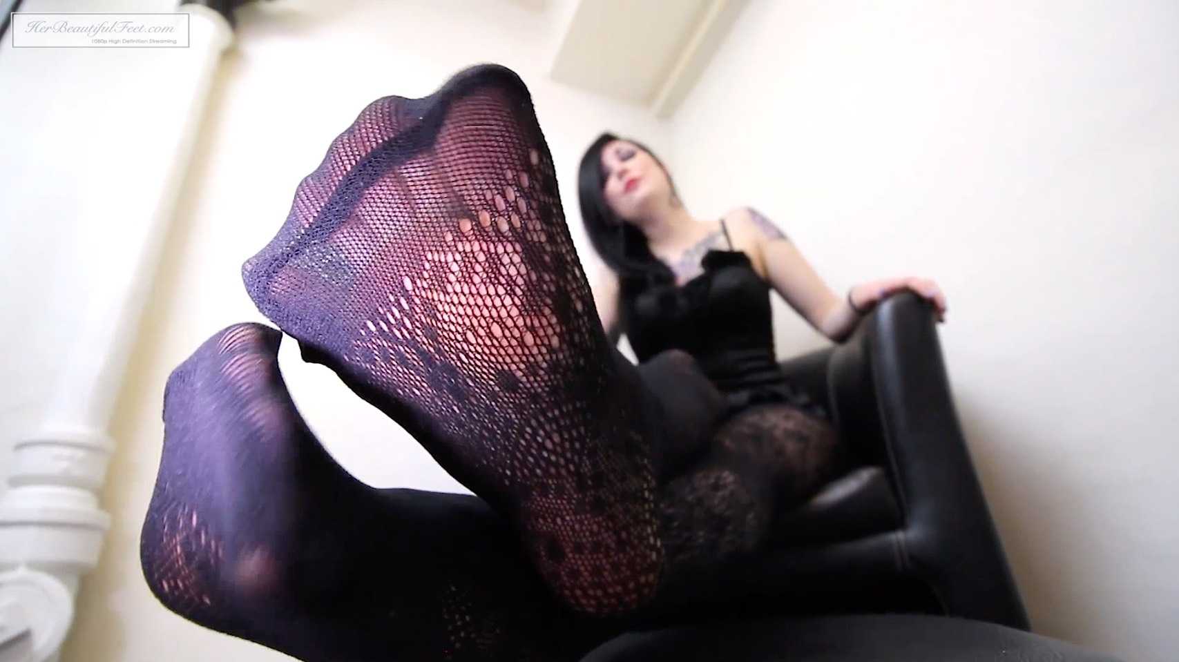 Black Fishnet Hosiery