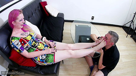 Foot Goddess Adoration