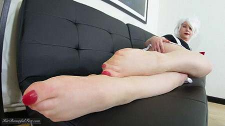 Pantyhosed Cosplay Feet