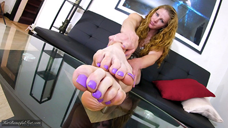 Beautiful Long Toes