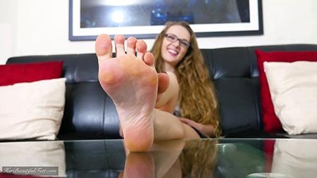 Cute Coed Feet