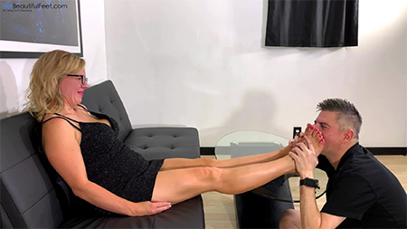 Worshipping Steph's Feet